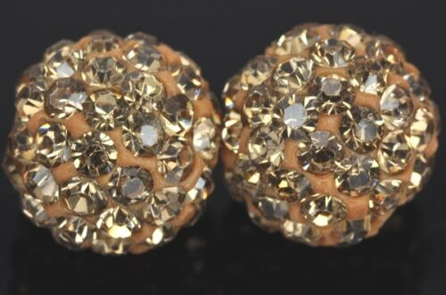 Al por mayor 10x Shamballa Cristal pavé Arcilla discoteca pelota perlas De 6mm 8m 10mm 12mm 14mm