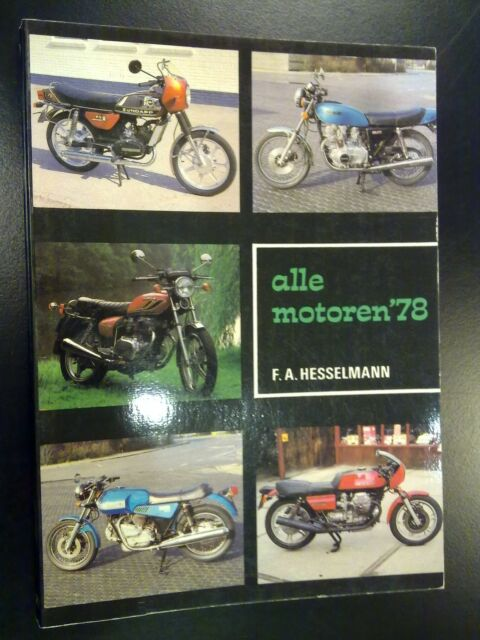 Alle motoren 1978 door F.A. Hesselmann