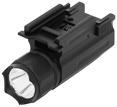 NcStar AQPTF LED Quick Release Mount Tactical Rifle & Pistol Flashlight Airsoft