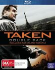 Taken / Taken 2 (Blu-ray, 2013, 2-Disc Set)