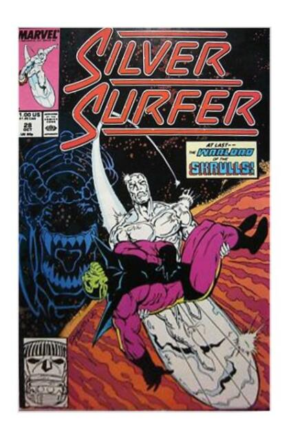 Silver Surfer #28 (Oct 1989, Marvel) F+
