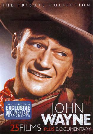 John Wayne: The Tribute Collection (DVD, 2011, 4-Disc Set) Brand New