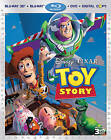 Toy Story (Blu-ray/DVD, 2011, 4-Disc Set, Includes Digital Copy 3D)