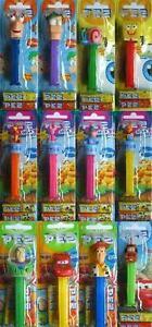 CHARACTER-PEZ-HEADS-Sweets-Candy-Dispenser-SQ-TS-CZ-PHF-MI-fixed-1-UK-p-amp-p