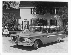 1959-Ford-Edsel-Villager-Wagon-Factory-Photo-Picture-Ref-39937