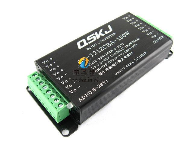 DC Converter 6-32V 12V to 0.8-28V 5V 150W Buck Boost Step Up Down Car PC Power