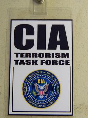 HALLOWEEN COSTUME MOVIE PROP - ID/Security Badges (CIA),