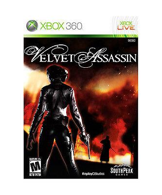 Velvet Assassin Xbox 360 Game Only