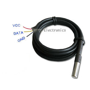 1pcs-Waterproof-DS18B20-Digital-Thermal-Probe-or-Sensor