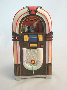 1950s Jukebox dollhouse miniature music 1/12 scale T5950 ...