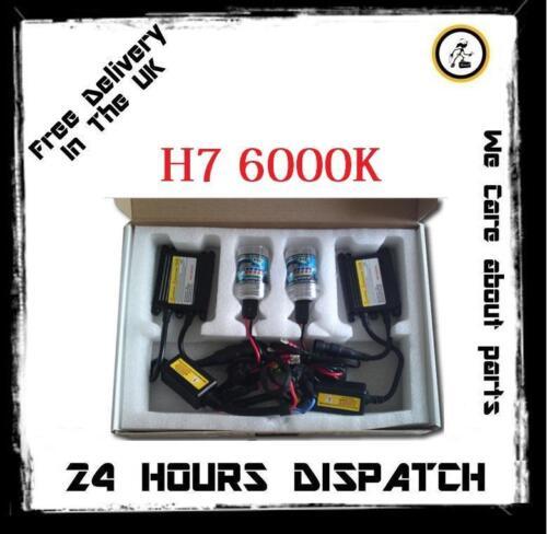 Xenon HID Conversion Light KIT 6000k 8000k H1 H3 H7 499 9005 DC Ballast Slim NEW