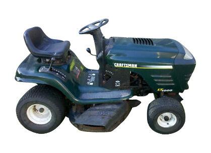 Craftsman Lt 1000 Lawn Tractor Ebay