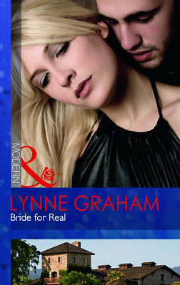 """""""VERY GOOD"""" Bride for Real (Mills & Boon Modern), Graham, Lynne, Book"""