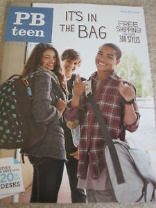 Pottery Barn Teens Catalog Pb Fall School 2011 New Ebay