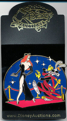 DISNEY AUCTIONS JESSICA & ROGER RABBIT On The Red Carpet LE 100 PIN New On Card