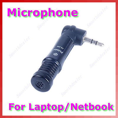 1PC 3.5mm Mini Microphone Mic For PC Laptop Notebook MSN Skyper Talk FE-269