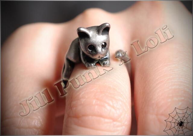 Lolita Fairy Lemony Snicket's Unfortunate Events adjustable kitten magic ring