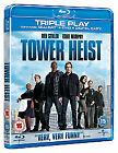Tower Heist (Blu-ray and DVD Combo, 2012, 3-Disc Set)