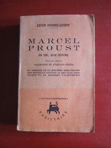 MARCEL-PROUST-SA-VIE-SON-OEUVRE-LEON-PIERRE-QUINT-1942