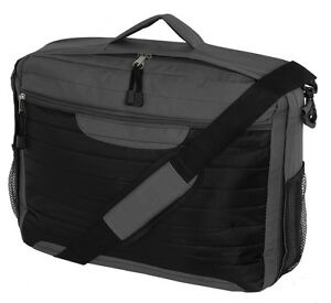 17-034-15-034-Widescreen-Laptop-Notebook-Bag-Carry-Case-Briefcase-Black-amp-Grey-Classic