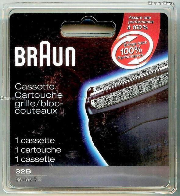 NEW BRAUN 32B SERIES 3- 350cc 350 340 330 320 Shaver/Razor FOIL+CUTTER CASSETTE
