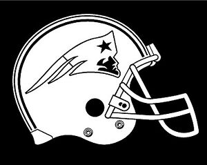 New England Patriots Helmet NFL Truck Car Window Laptop Decal ...