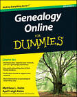 Genealogy Online For Dummies by Matthew L. Helm, April Leigh Helm (Paperback, 2011)