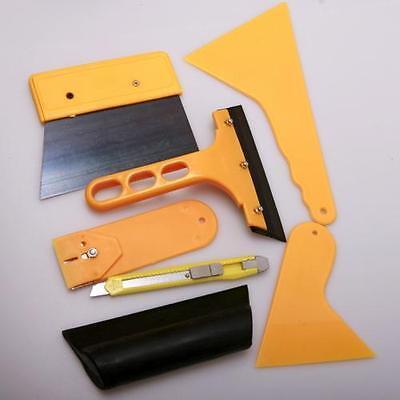 Deluxe Car Vehicle Window Vinyl Film wrap Application installation Tools Kit set