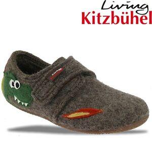 Living Kitzbühel Hausschuh 2043 Drache und Feuer 2 Farben Gr.23-35