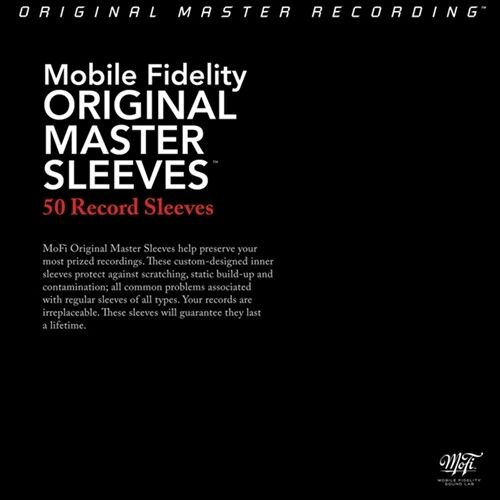 MOFI ANTI STATIC LP RECORD SLEEVES | THE BEST | PACK OF 50 SLEEVES