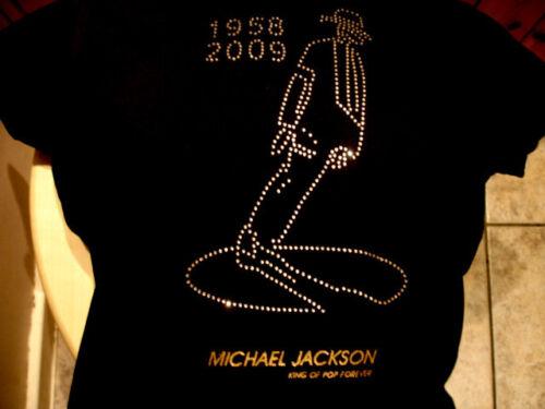Michael JACKSON T-SHIRT CON STRASS