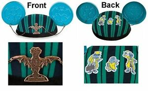 Disney-Parks-Haunted-Mansion-Mickey-Mouse-Ear-Hat-WDW-Disney-Store-Halloween-NWT