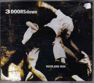 3-Doors-down-Duck-and-run-promo-cd-single