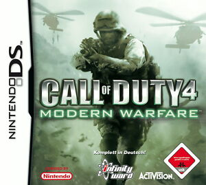 Call of Duty 4: Modern Warfare (Nintendo DS, 2007) - Herne, Deutschland - Call of Duty 4: Modern Warfare (Nintendo DS, 2007) - Herne, Deutschland