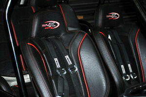Polaris Rzr 4 Triple X Dual Front Highbacks Amp Rear 3