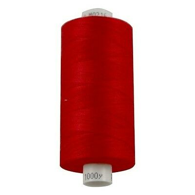 Moon Polyester Thread 1000yd Reel - Red (M0216)