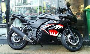 FIGHTER BIRDSport Bike Graphics Motorcycle Decals Stickers EBay - Motorcycle decal graphics