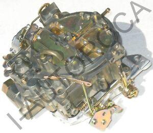 MARINE-CARBURETOR-ROCHESTER-QUADRAJET-ELECTRIC-350-5-7-DICHROMATE