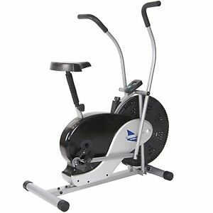 BODY-MAX-RIDER-STATIONARY-UPRIGHT-EXERCISE-FAN-BIKE-FITNESS-EQUIPMENT-BICYCLE