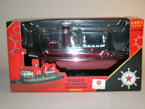 2002 TEXACO AMERICAN TUGBOAT BANK SPECIAL EDITION THIRD IN SERIES MINT IN BOX