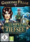Geheime Fälle: Tempel der Tiefsee - Das dunkle Geheimnis (PC, 2010, DVD-Box)