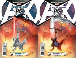 sketch-variant-set-2-AVENGERS-VS-X-MEN-7-Esad-Ribic-Team-Cover-MARVEL-1st-pr