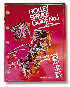 Holley-Service-Guide-No-1-36-70