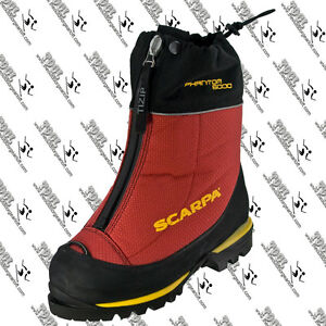 SCARPA-87405-MENS-PHANTOM-6000-MOUNTAINEERING-BOOT-US-9-EU-42-MADE-IN-ITALY-RED