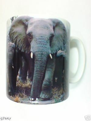 Elephants On A Coffee Mug No 1This Can Be Personlised