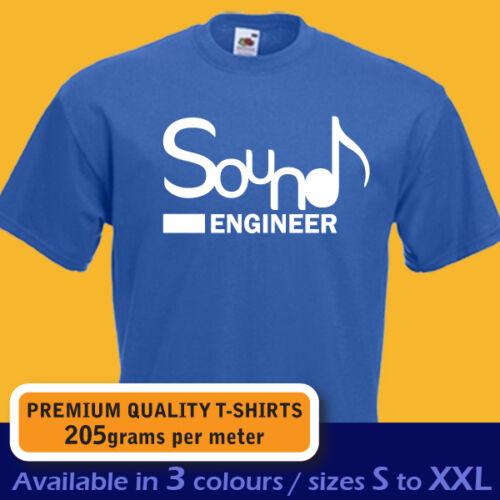 Ingénieur du son musique compositeur dj disc jockey t-shirt homme femme anniversaire cadeau