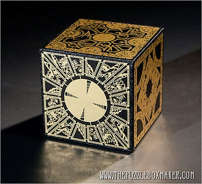Lament Configuration - Solid Wood, Foil Face Hellraiser Puzzle Box - Free Ship