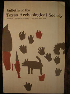 TEXAS-ARCHEOLOGICAL-SOCIETY-v50-1979-Archeology-History-Dickens-Cty-Central-Tx