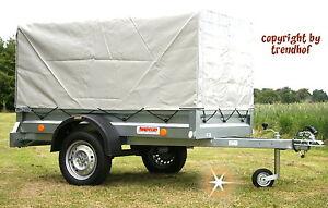 750 kg pkw kasten anh nger extrabreit spriegel plane aufbau st tzrad diebs neu ebay. Black Bedroom Furniture Sets. Home Design Ideas