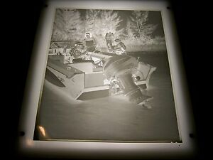 1967-EVINRUDE-8x10-ADVERTISING-PHOTO-NEGATIVE-E001-STARFLITE-BOAT-MOTOR